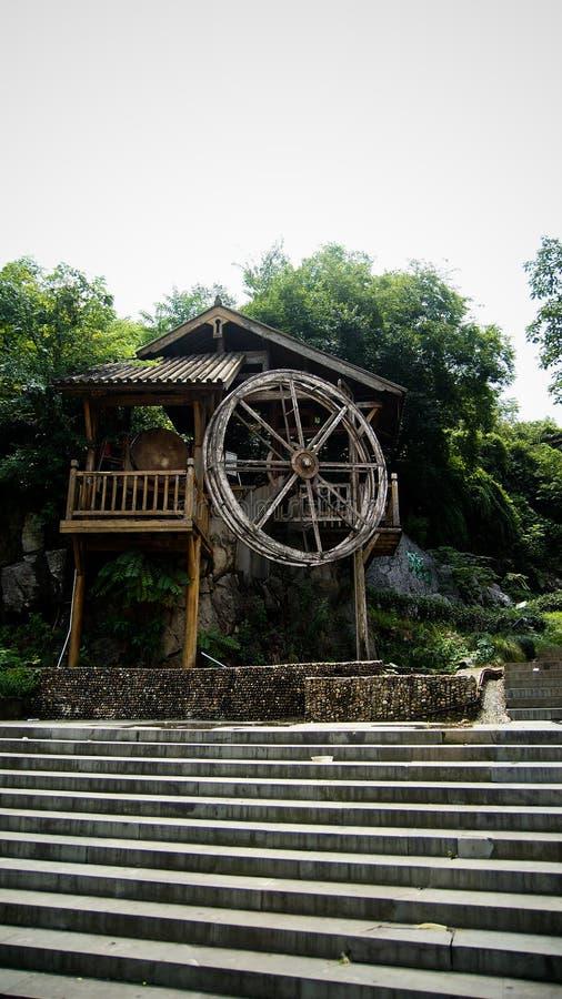 waterwheel royaltyfri bild