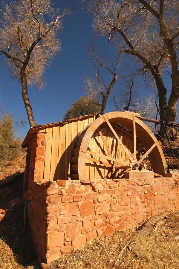 Waterwheel imagem de stock