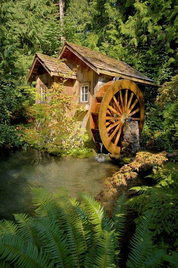 Download Waterwheel foto de archivo. Imagen de vertiente, rueda - 7277878
