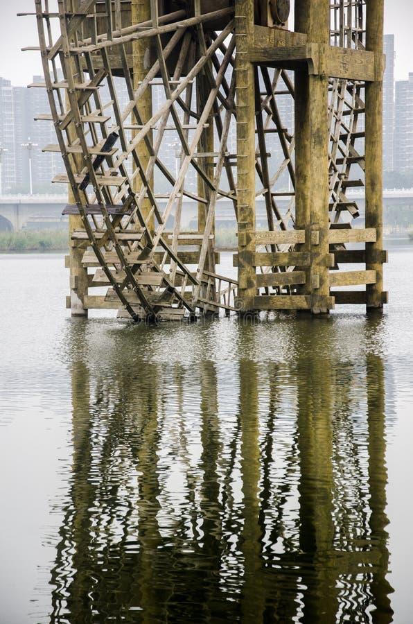 waterwheel стоковое изображение rf