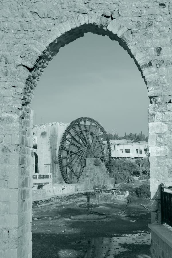Waterwheel In The City Of Hama Stock Photos