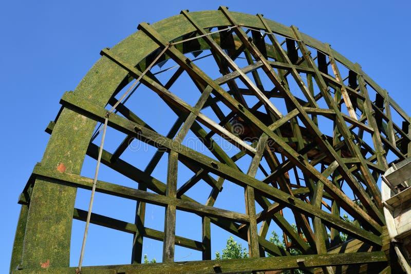 Waterwheel stock photo