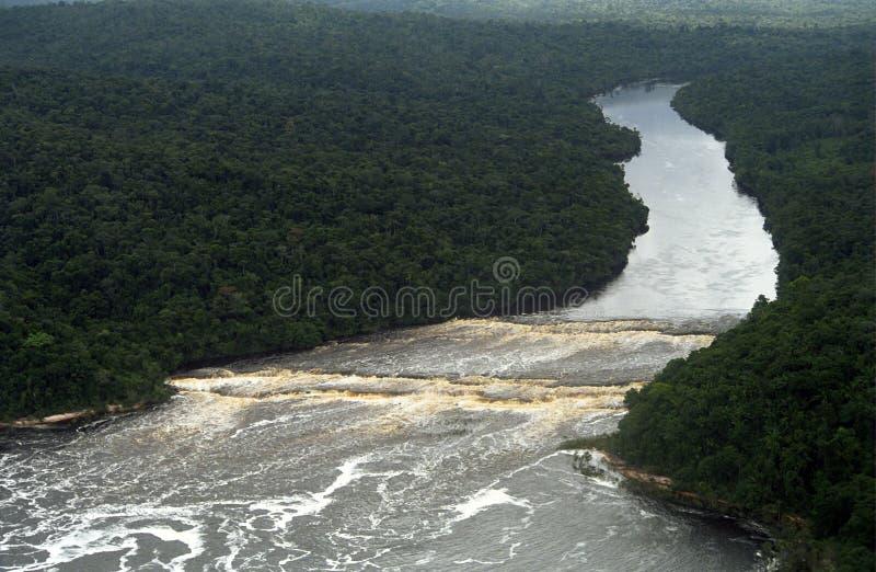waterworld Венесуэлы canaima стоковое изображение