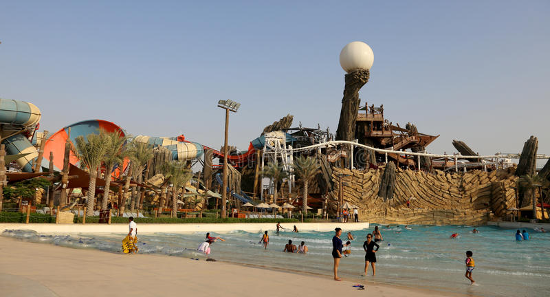 Waterworld Abu Dhabi stock fotografie