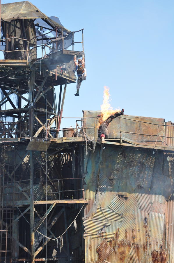 Download Waterworld Show At Universal Studios Holliwood Editorial Photo - Image of awesome, crazy: 68763266