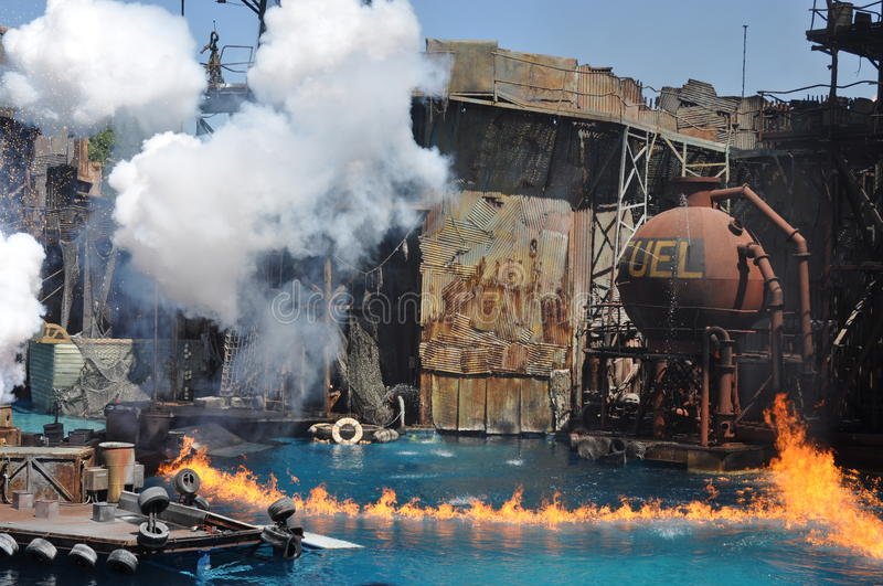Download Waterworld Show At Universal Studios Holliwood Editorial Photo - Image of awesome, beautiful: 68763316