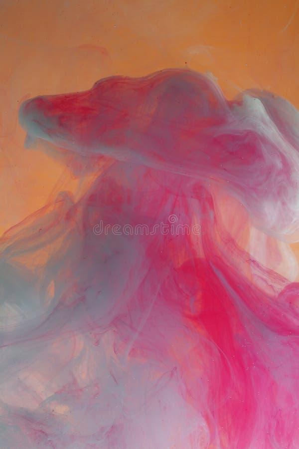 watery bakgrundspastell arkivfoto
