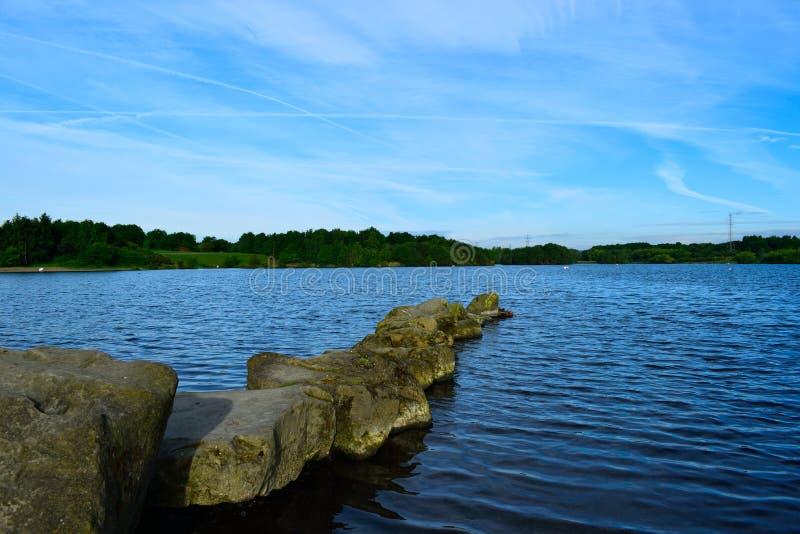 Wath Manvers Lake stock photo