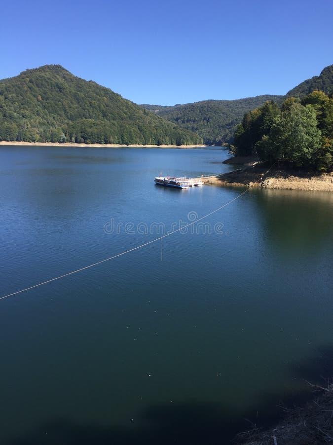 Lake vidraru romania stock images