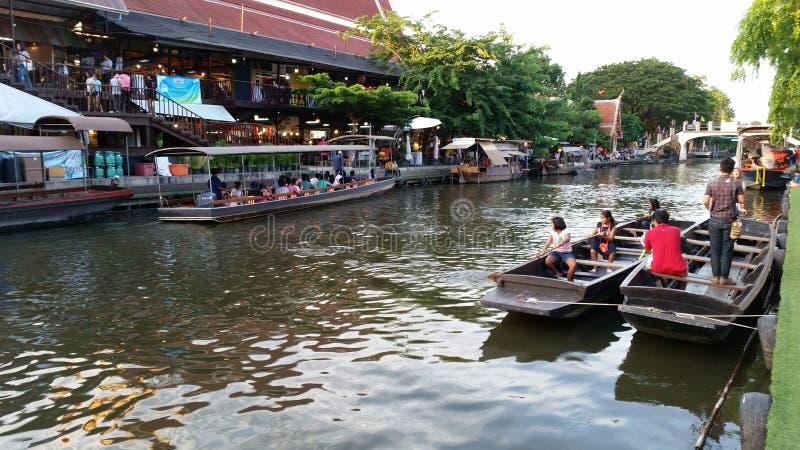 Wather-maket Thailand stockfotografie