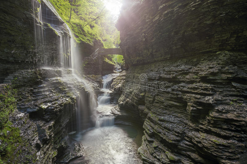 Watkins Glen State Park New York fotos de stock