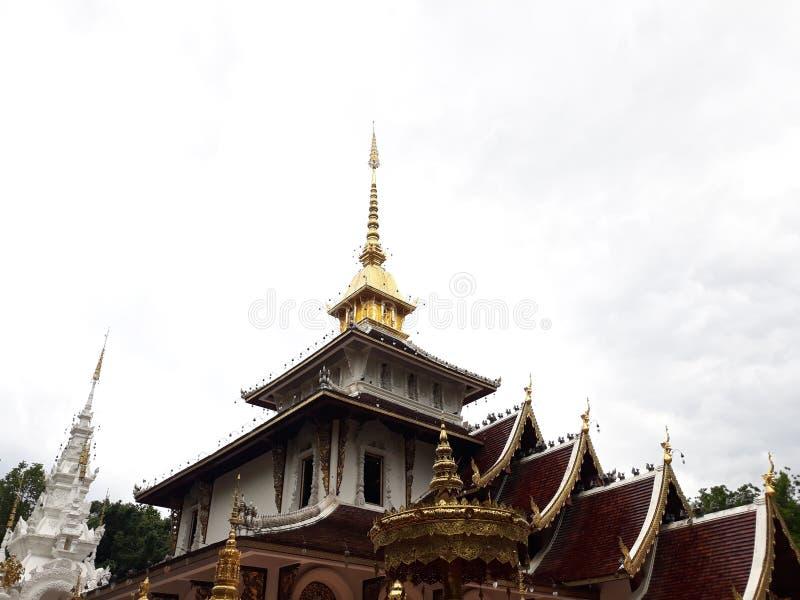 Watpa Darapirom, Chiangmai, Tailandia immagini stock