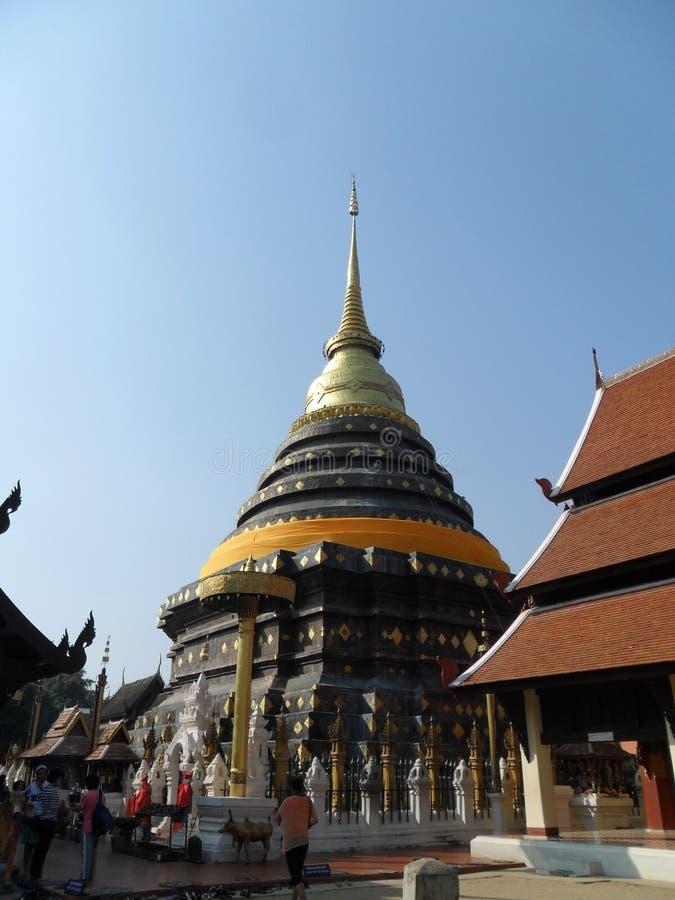 Watphrathatlampangluang imagen de archivo