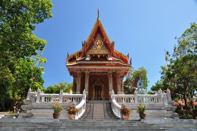 WatPrako siamesischer Tempel lizenzfreies stockbild