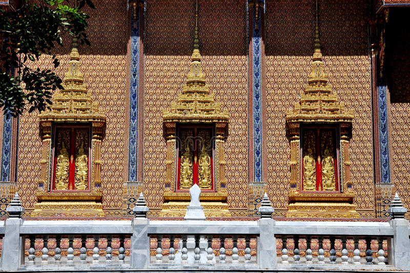 WatPrako siamesischer Tempel lizenzfreie stockfotos