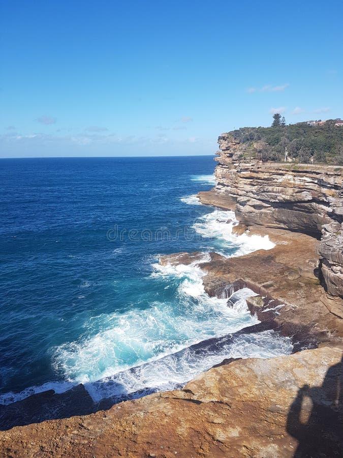 Watson& x27; bahía de s, Sydney imagen de archivo libre de regalías