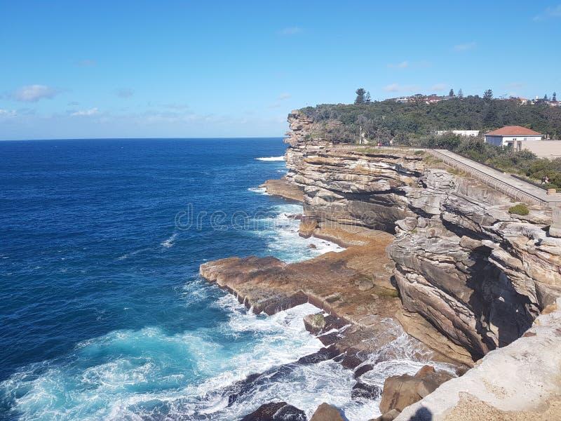 Watson& x27; bahía de s, Sydney fotos de archivo libres de regalías