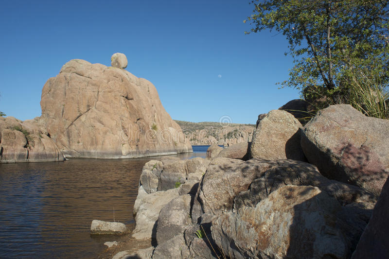 Watson Lake royalty free stock photos
