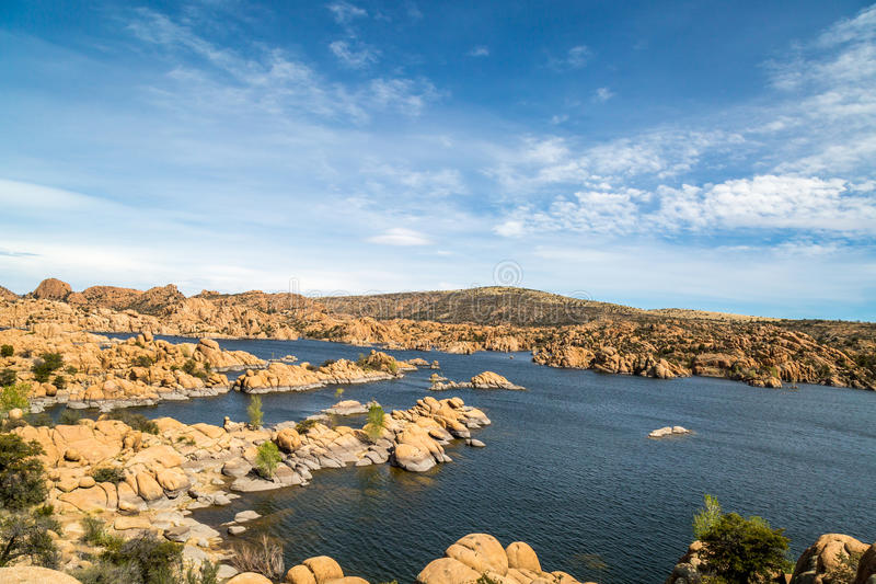 Watson Lake in Prescott Arizona. Stunning views from Watson Lake in Prescott Arizona royalty free stock photo