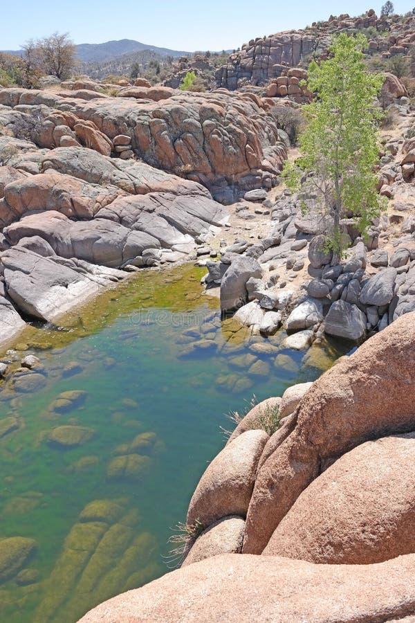 Watson Lake, Prescott, AZ imagem de stock