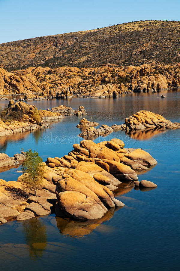 Watson Lake - Prescott AZ USA royalty free stock photography