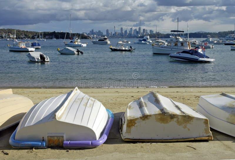 watsons пляжа залива стоковое изображение rf