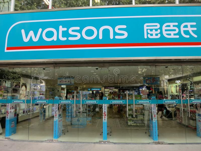 Download Watsons, Chinese Health And Drug Store Editorial Photo - Image: 43567081