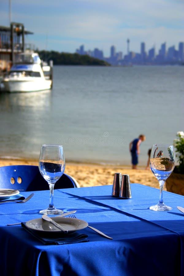 watsons nsw залива Австралии стоковая фотография