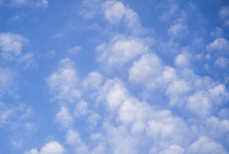 Wattenwolken royalty-vrije stock afbeelding
