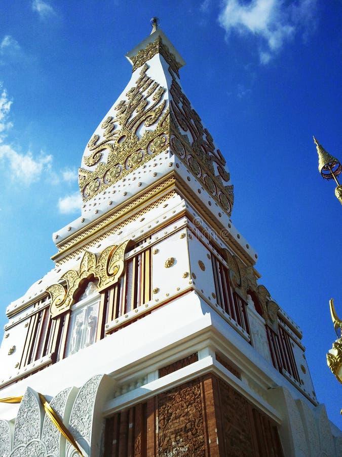 Watthai kultur, byggande, tempel arkivfoton