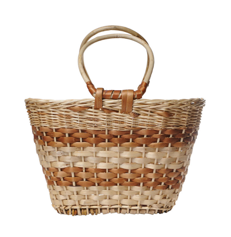 Download Wattled basket stock photo. Image of brown, willow, osier - 27822720