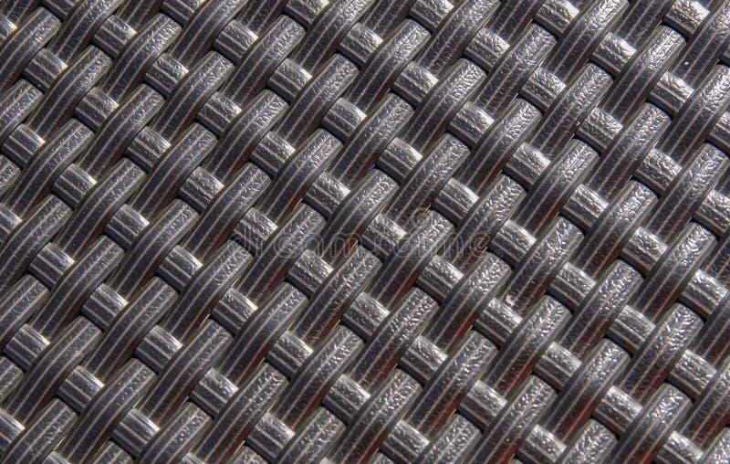 Wattled, fundo plástico da textura no dia ensolarado imagens de stock