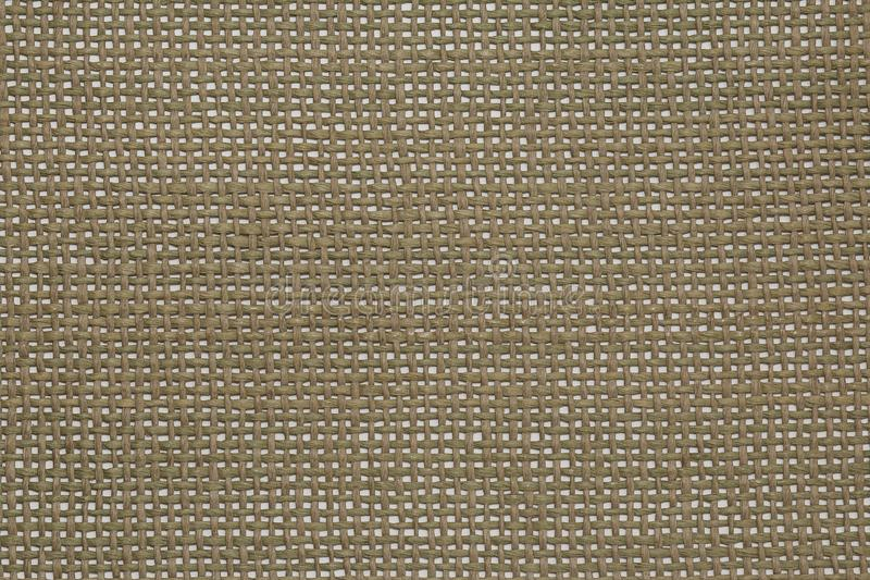 Wattled synthetic fabric as texture. Top view royalty free stock photography