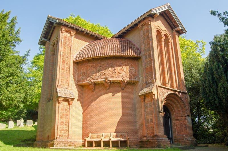 Watts de chapelle, Compton, Surrey photographie stock