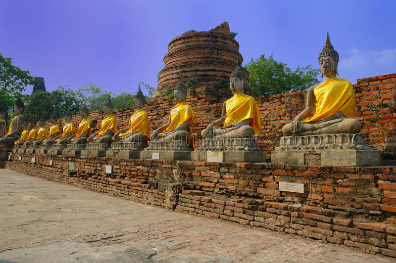 watyaichaimongkol της Ταϊλάνδης συμβόλων στοκ φωτογραφίες