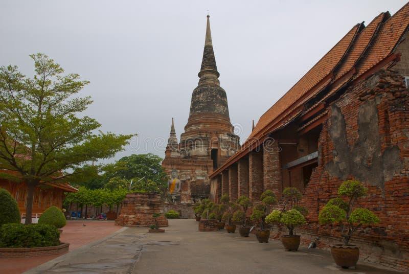 Watyaichaimongkol in Thailand lizenzfreies stockbild
