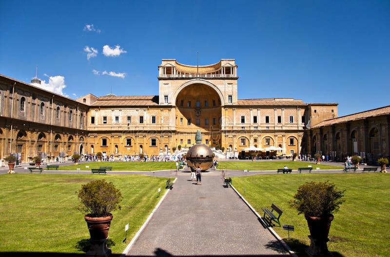 Watykańscy Muzea obraz royalty free