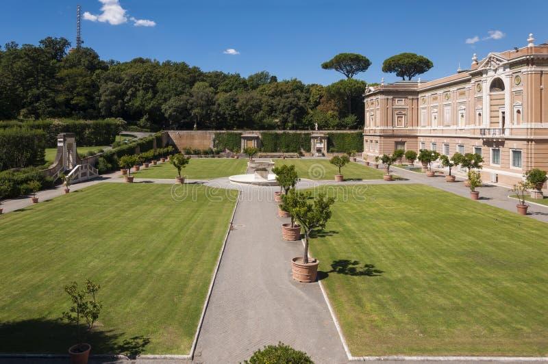 Watykańscy muzea zdjęcie royalty free