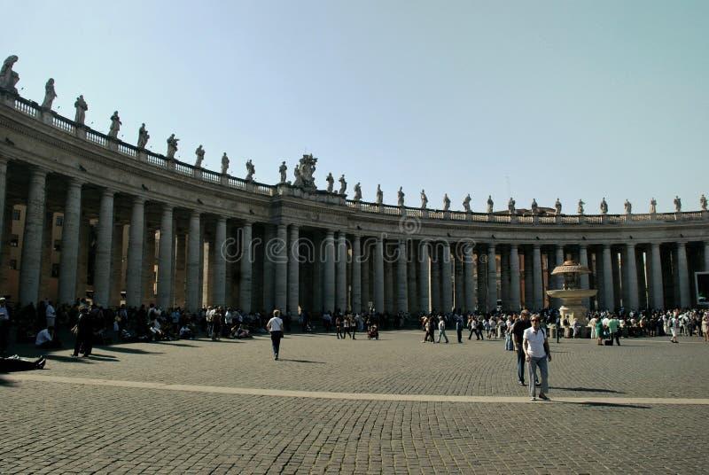 Watykan - St Peters bazylika - Rzym, Włochy - obrazy royalty free