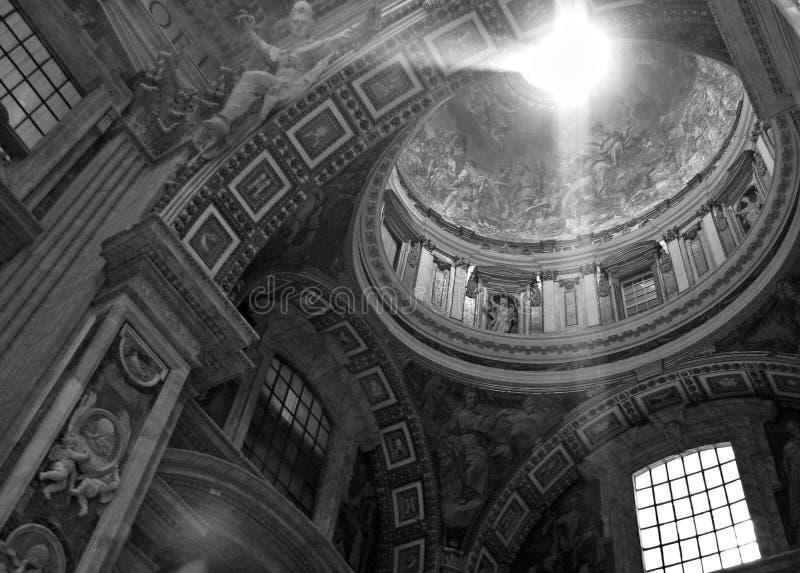 Watykan, watykan, Rzym, Włochy, St Peter kościół katolicki fotografia stock