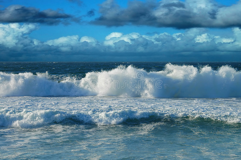Wave royalty free stock photography