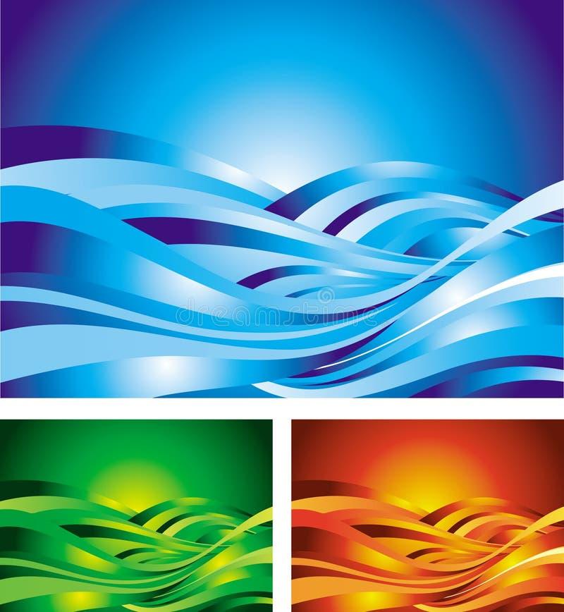 wave arkivfoto