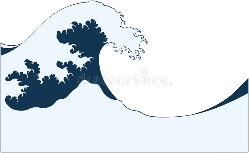 Download Wave stock vector. Image of illustration, wave, storm - 2837943