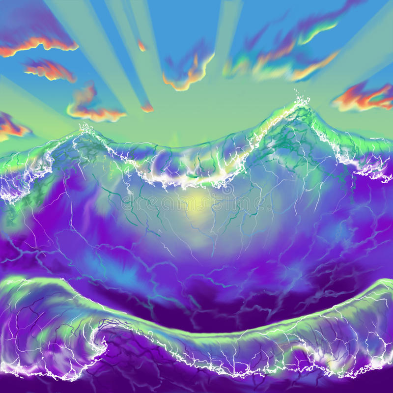 Wave royalty illustrazione gratis