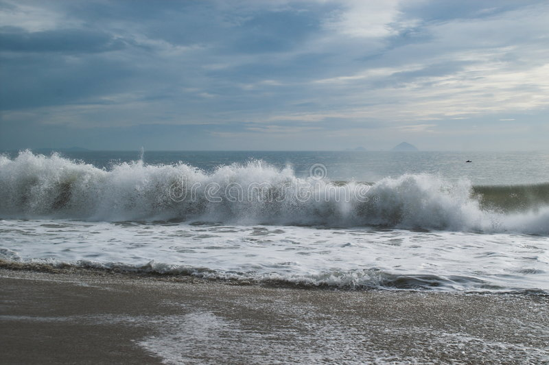 Wave royalty free stock image