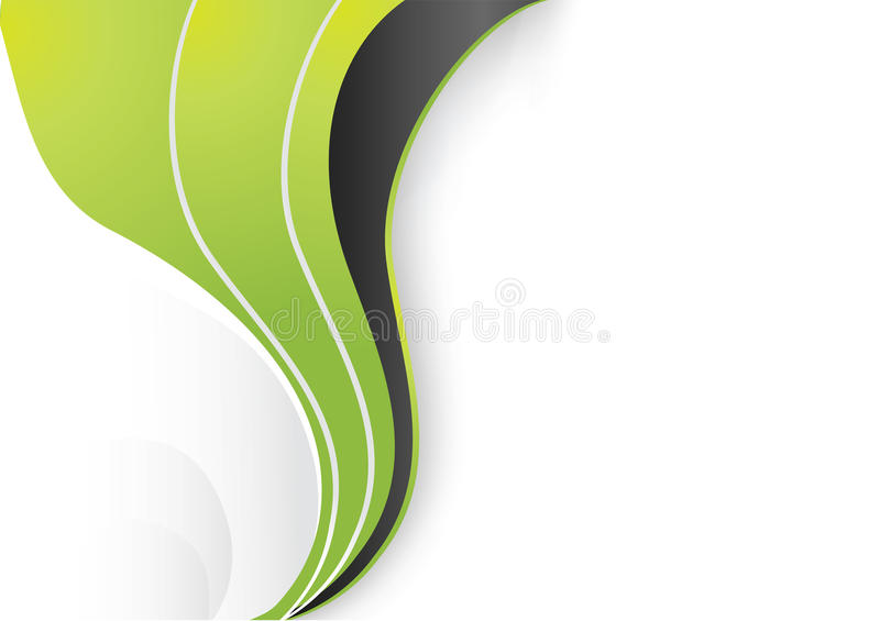 Wave abstract background. For business artworks. Vector stock illustration