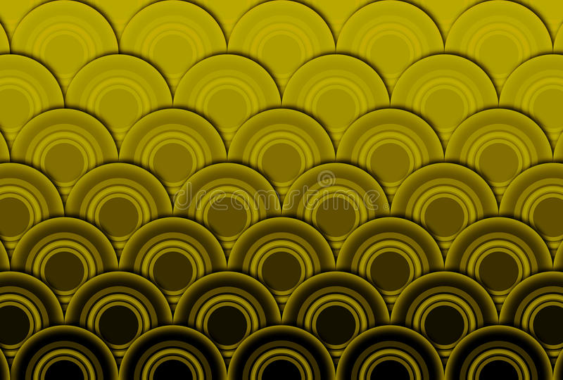 Download Wave abstract background stock illustration. Image of decoration - 27909970