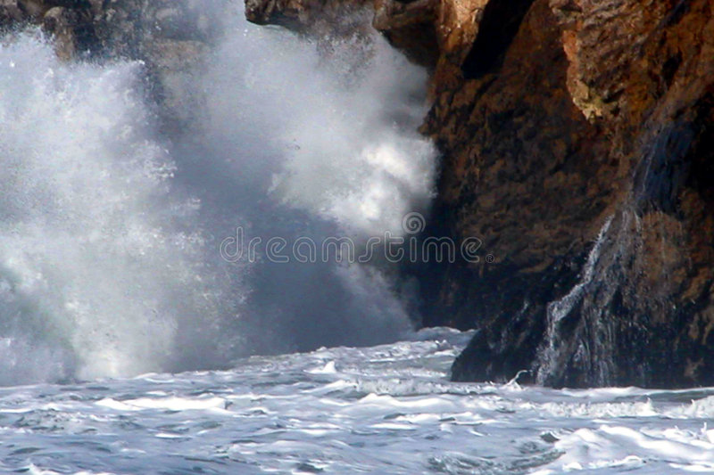 Wave Action 2 royalty free stock photos