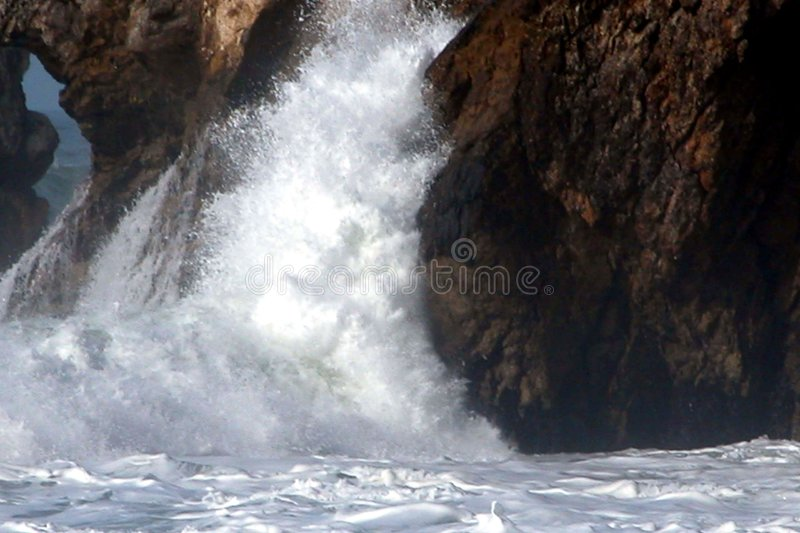 Wave Action 3 royalty free stock images