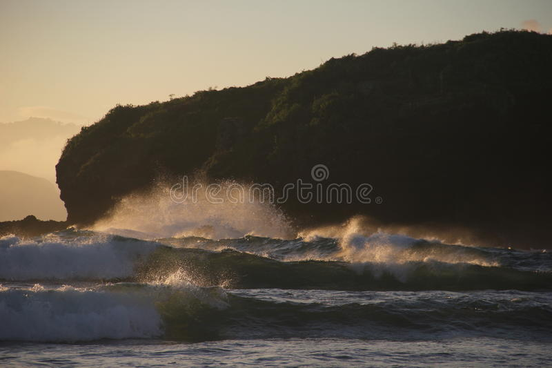 Wave attraente fotografia stock libera da diritti